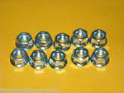 Husqvarna Bar Nuts,Pak of 10,Fits All Husky&Jonsered Chain Saws Includes Wrench