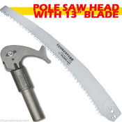 "Arborist  Pole Saw Head,w/13"" Blade,Fits Wooden Poles,Free Shipping,13"" Blade"