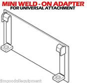 Bobcat MT50/52 Weld On Adapter Fit All Universal Mini Attachments
