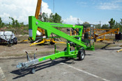 Nifty TM34M 40 Ft Towable Boom Lift, Honda Power, Only Two Left At This Price