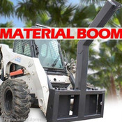 Material/Tree Boom Attachment for Skid Steers,Lift 10,000 Lbs! Fits Takeuchi