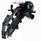 "Bradco 615 Trencher for Bobcat MT50-52 Mini Skid Steer, 36"" Dig Depth"