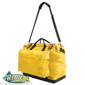 Lineman/Tree Workers Tool Bag,Hard Plastic Bottom,Protect Your Tools,Yellow