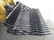 "84"" Rock Bucket HD Bradco For Skid Steers,Fits Bobcat,Cat,Case,Gehl,Deere"
