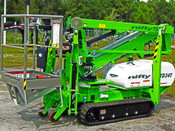 Nifty TD34T 40' Track Boom Lift, 40' Work Height, 4000 lbs, Great For Tree Care