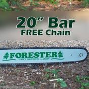 """Stihl 20"""" Replacement Bar w/Chain,Fits Stihl 031,032,034,036,038,041,045,056,440"""