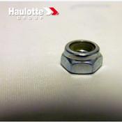 0096-0040 Biljax Haulotte Nut-Lock- M8-Gr 8-Hex-Nylon Insert-Zinc