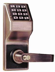 Alarm Lock Dl2700 10b Trilogy T2 Push Button Lock Oil
