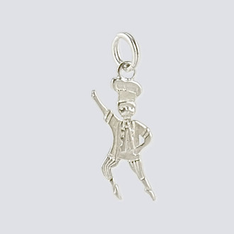 Baker Charm - Nutcracker Dance Jewelry Silver