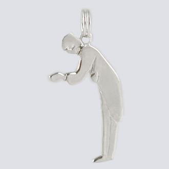 Father Charm - Nutcracker Dance Jewelry Silver