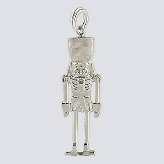 Nutcracker Charm - Nutcracker Dance Jewelry Silver