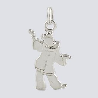 Polinchinelle Charm - Nutcracker Dance Jewelry Silver