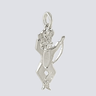 Small Mouse Charm - Nutcracker Dance Jewelry Silver