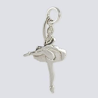 Sugar Plum Fairy Charm - Silver