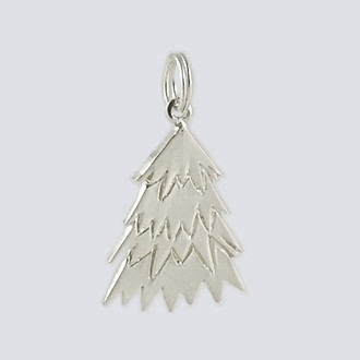 Tree Charm - Nutcracker Dance Jewelry Silver