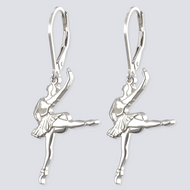 Ballerina Earrings - Dance Jewelry Collection