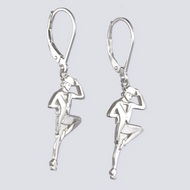Tap Dance Earrings - Dance Jewelry