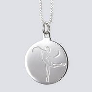 Contemporary Attitude Charm (Lg) - Silver Dance Jewelry Collection