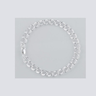 "7"" Silver Bracelet"