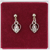 (ERCMHP) RF MIRACULOUS HEART EARRINGS