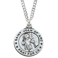 "(L600JOA) SS ST. JOAN OF ARC 20"" CH&BX"