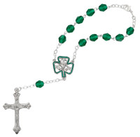 (650C) 7MM IRISH AUTO ROSARY/CARDED