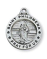 "(L700PH) SS ST PHILOMENA 18 CH&"""