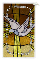 (PC801HS) HOLY SPIRIT PIN/PRAYER CARD