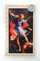 (PC801MK) ST MICHAEL PIN/PRAYER CARD SET
