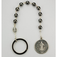 (PRBEN) ST. BEN. POCKET ROSARY,CARDED