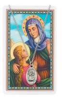 (PSD500AE) ST ANNE PRAYER CARD SET