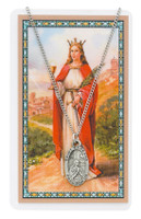 (PSD500BA) ST BARBARA PRAYER CARD SET
