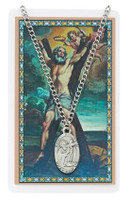 (PSD550AW) ST ANDREW PRAYER CARD SET