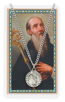 (PSD600BN) ST. BENEDICT PRAYER CARD SET