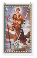 (PSD600CH) ST CHRISTOPHER PRAYER CARD SET