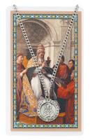(PSD600GY) ST GREGORY PRAYER CARD SET