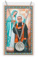 (PSD600MX) ST MAXIMILIAN PRAYER CARD SET
