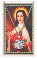 (PSD600TF) ST THERESE PRAYER CARD SET