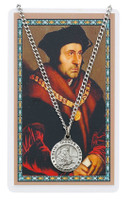 (PSD600TM) ST THOMAS MORE PRAYER CARD SET