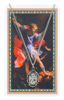 (PSD621MK) ST MICHAEL PRAYER CARD SET