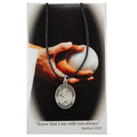 (PSD671SB) GIRLS SOFTBALL PRAY CARD SET