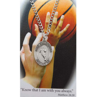 (PSD675BK) BOY BASKETBALL PRAYER CARD SET