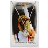 (PSD676CL) GIRLS CHEERLEADING PRAYER CARD