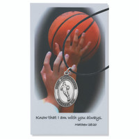 (PSD770BK) BOYS BASKETBALL PRAY CARD SET