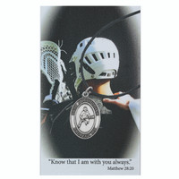 (PSD770LC) BOYS LACROSSE PRAYER CARD SET