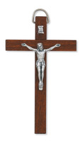 (94-24) 4 DARK BROWN CRUCIFIX""