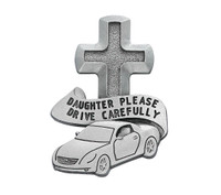 (VC-794) DAUGHTER DRIVE SAFE VISOR CLIP