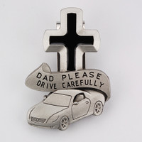 (VC-865) DAD PLEASE DRIVE SAFELY VISOR