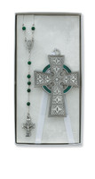 (BS38) CELTIC CRIB CROSS & RSRY SET