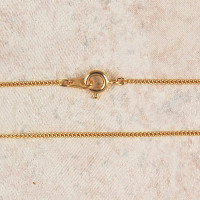 """(P-16) CHAIN, FINE GOLD PLATED, 16"""""""